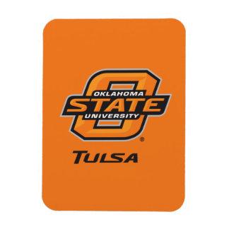 OSU Tulsa Rectangular Photo Magnet