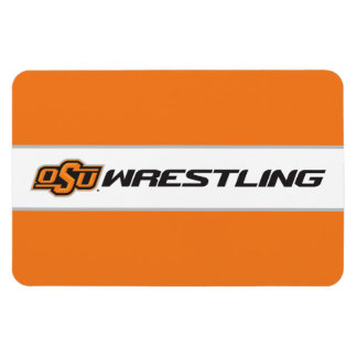 OSU Wrestling Rectangular Photo Magnet