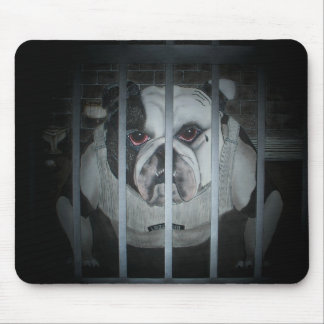 Oswald, the English Bulldog Mousepad