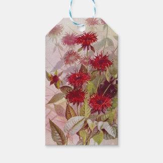 Oswego-Tea Vintage Botanical Wildflower Gift Tags