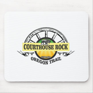 Ot courthouse rock mouse pad