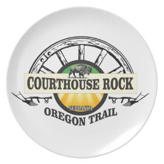 Ot courthouse rock plate