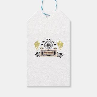 ot fort bridger logo gift tags