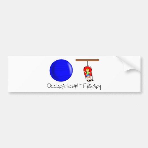 OT Initials Bumper Stickers