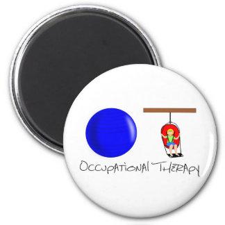 OT Initials Magnet