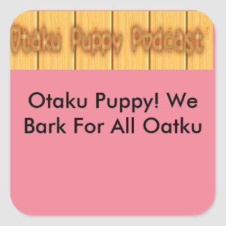 Otaku Puppy Sticker
