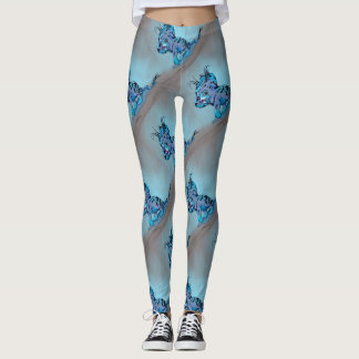OTAM ALIEN MONSTER CARTOON  LEGGINS LEGGINGS