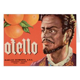 Otello Orange Label Card