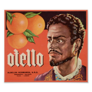Otello Vintage Crate Label Posters