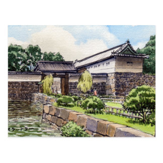 Otemon at the Imperial Palace in Tokyo Postcard