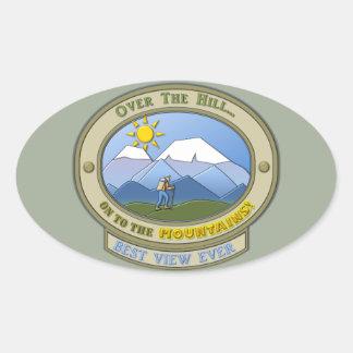 """OTH..., Oval Stickers, 4.5"""" x 2.7"""" Oval Sticker"""