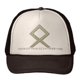 Othala Rune gold Cap