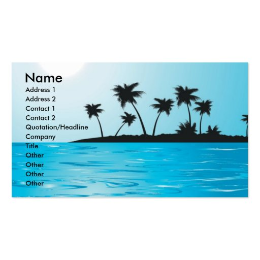 Other046 , Name, Address 1, Address 2, Contact ... Business Card Templates