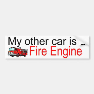 other car fire bumper stickers