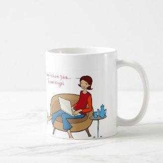 """""""Other Moms have jobs, I have blogs"""" mug"""
