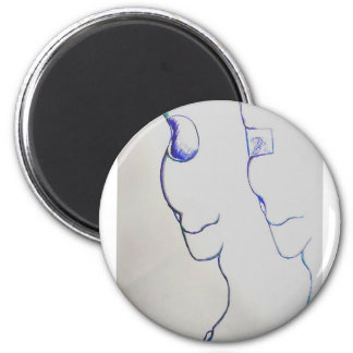 Other Worlds Marching in Cadence 6 Cm Round Magnet