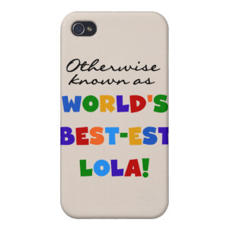 Otherwise Known as Best-est Lola Gifts iPhone 4/4S Cover