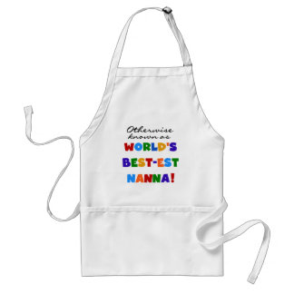 Otherwise Known as Best-est Nanna Gifts Standard Apron