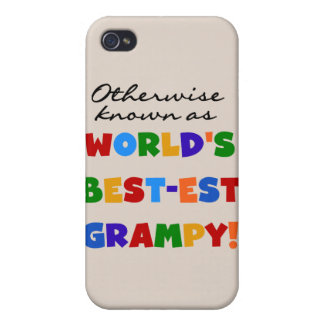 Otherwise Known as World's Best-est Grampy Gifts iPhone 4/4S Covers