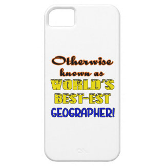 Otherwise known as world's bestest Geographer Barely There iPhone 5 Case