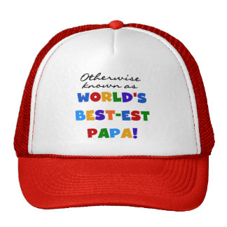 Otherwise Known Best-est Papa Tshirts and Gifts Cap