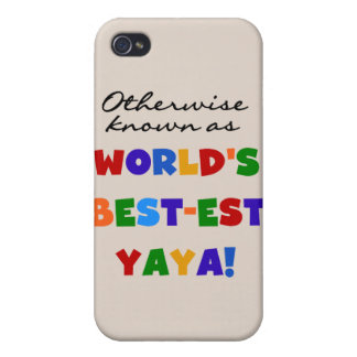 Otherwise Known Best-est Yaya and Gifts iPhone 4/4S Covers