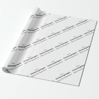 Otolaryngologist Wrapping Paper