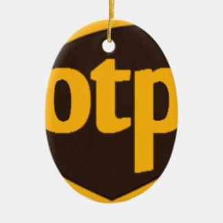 OTP CERAMIC ORNAMENT