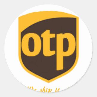 OTP CLASSIC ROUND STICKER