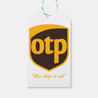 OTP GIFT TAGS