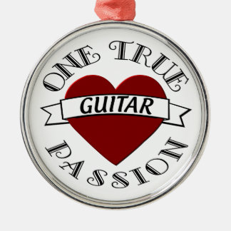 OTP Guitar Christmas Ornament