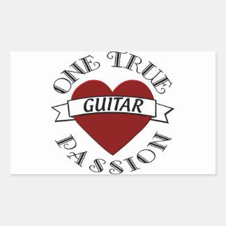 OTP Guitar Rectangle Sticker