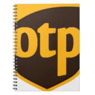 OTP SPIRAL NOTEBOOK