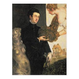 Ottavio Strada , designer of jewellery Postcard