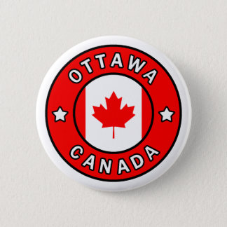 Ottawa Canada 6 Cm Round Badge