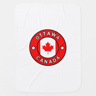 Ottawa Canada Baby Blanket