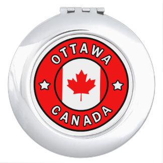 Ottawa Canada Compact Mirror