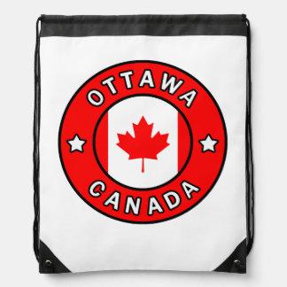 Ottawa Canada Drawstring Bag