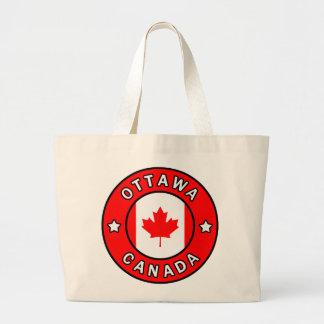 Ottawa Canada Large Tote Bag