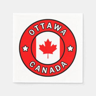 Ottawa Canada Paper Serviettes