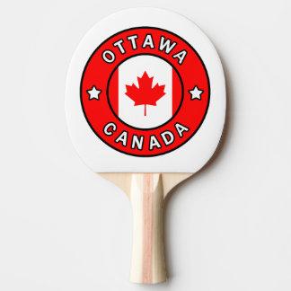 Ottawa Canada Ping Pong Paddle
