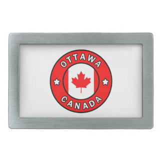 Ottawa Canada Rectangular Belt Buckle