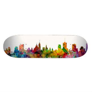 Ottawa Canada Skyline Skate Board