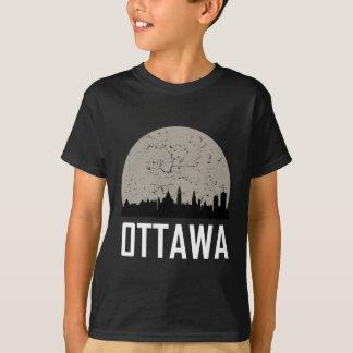 Ottawa Full Moon Skyline T-Shirt