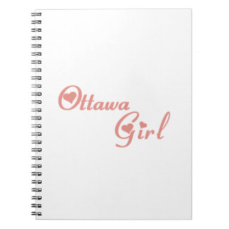 Ottawa Girl Spiral Notebook