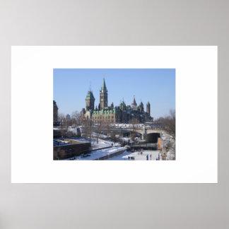 Ottawa Parliament Poster