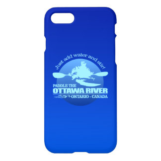 Ottawa River (Blue) iPhone 7 Case