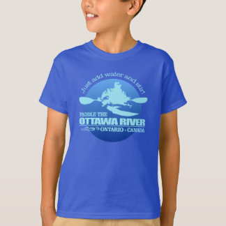 Ottawa River (Blue) T-Shirt