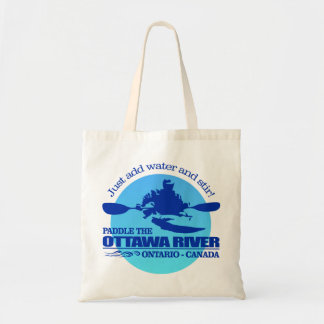 Ottawa River (Blue) Tote Bag