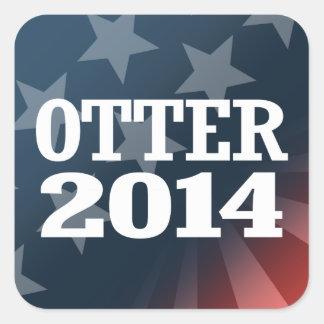 OTTER 2014 SQUARE STICKER